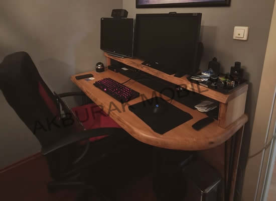 Ahşap Çalışma Masası